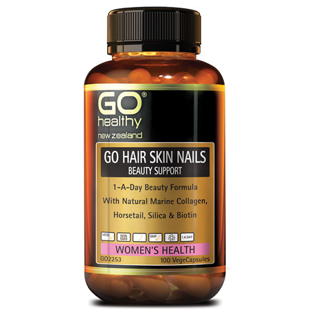 GO Hair Skin Nail Beauty Support 100vcap
