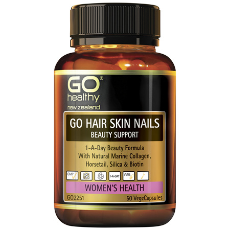GO Hair Skin Nail Beauty Support 50vcap