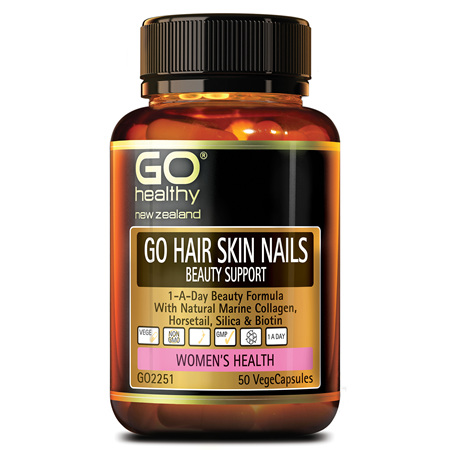 GO HAIR SKIN NAILS BEAUTY SUPPORT - 1-A-DAY BEAUTY FORMULA (50 VCAPS)