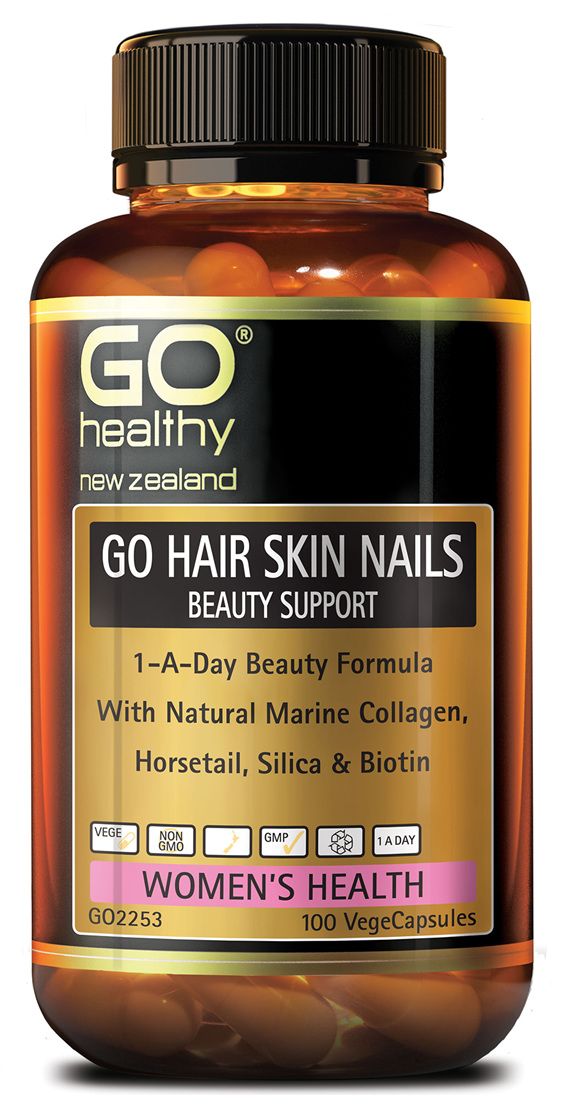 GO HAIR SKIN NAILS BEAUTY SUPPORT - 1-A-DAY BEAUTY FORMULA (100 VCAPS)