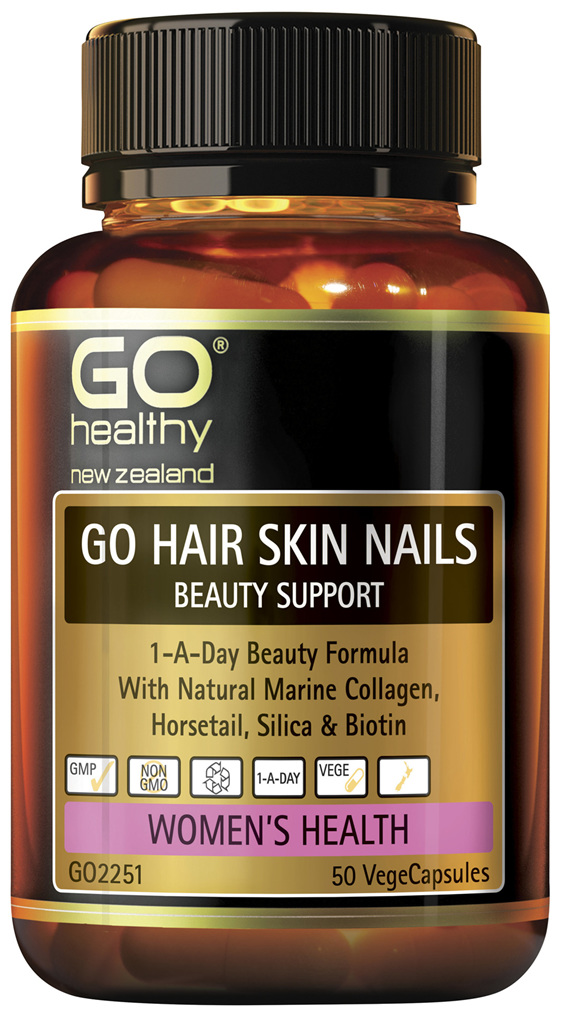 GO Hair Skin Nails Beauty Support 50 VCaps