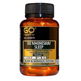 Go Healthy Magnesium Sleep 60 vegecaps