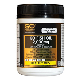 Go Healthy Fish Oil 2,000mg 230 softgel caps