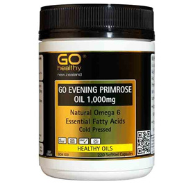 Go Healthy Evening Primrose Oil 1,000mg 220 softgel caps
