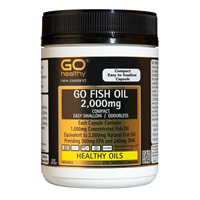Go Healthy Fish Oil 2,000mg 230 softgel caps