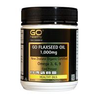 Go Healthy Flaxseed Oil 1,000mg 220 softgel caps