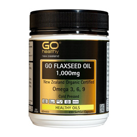 Go Healthy Flaxseed Oil 1,000mg 220 softgel caps