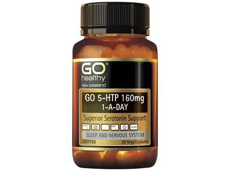 GO Healthy GO 5-HTP 160mg 1-A-DAY 30 VegeCaps