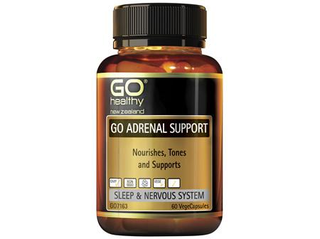 GO Healthy GO Adrenal Support 60 VegeCaps