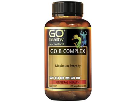 GO Healthy GO B Complex 120 VegeCaps