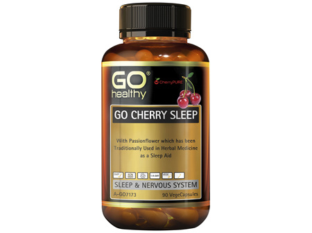GO Healthy GO Cherry Sleep 90 VegeCapsules