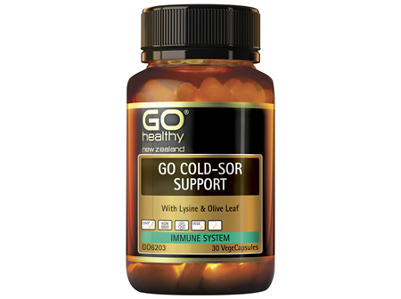 GO Healthy GO ColdSor Support 30 Capsules