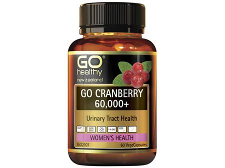 GO Healthy GO Cranberry 60,000 60 Capsules