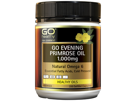 GO Healthy GO Eevening Primrose Oil 1000mg 220 Capsules