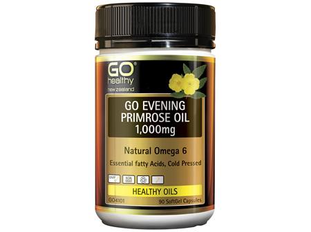 GO Healthy GO Eevening Primrose Oil 1000mg 90 Capsules