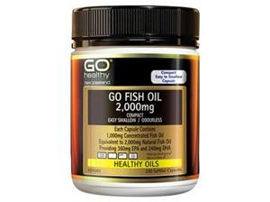 GO Healthy GO Fish Oil 2,000mg Capsules 200s