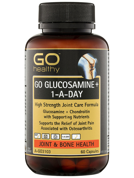 GO Healthy GO Glucosamine+ 1-A-Day Capsules 60 Pack