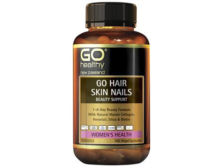 GO Healthy GO Hair, Skin, Nails Beauty Support 100 VegeCaps