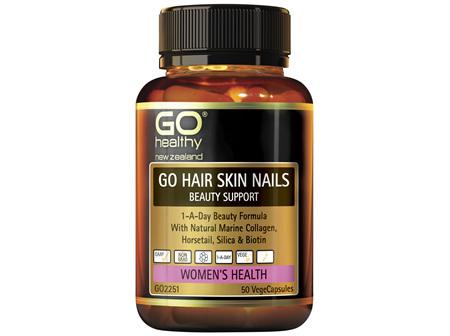 GO Healthy GO Hair, Skin, Nails Beauty Support 50 VegeCaps