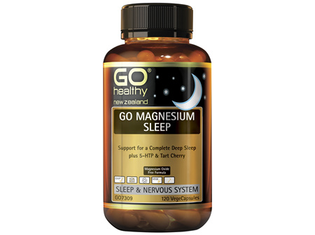GO Healthy Go Magnesium Sleep 120 VegeCaps