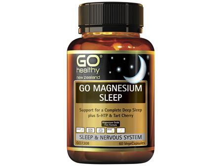 GO Healthy Go Magnesium Sleep 60 VegeCaps