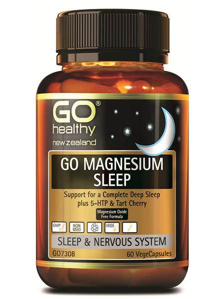 GO Healthy Go Magnesium Sleep 60 VegeCaps
