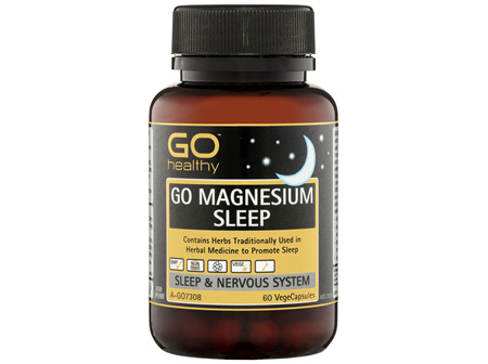GO Healthy GO Magnesium Sleep VegeCapsules 60 Pack