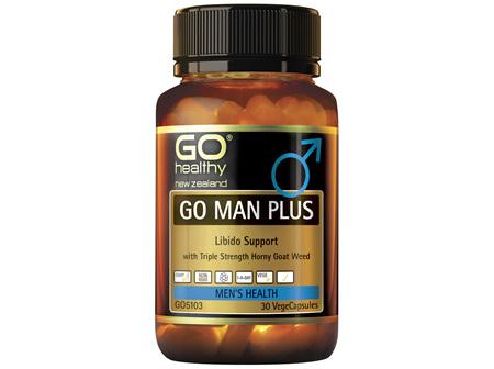 GO Healthy Go Man Plus 30 VegeCaps