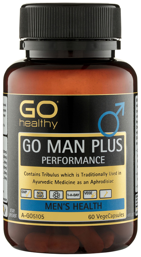 GO Healthy GO Man Plus Performance VegeCapsules 60 Pack