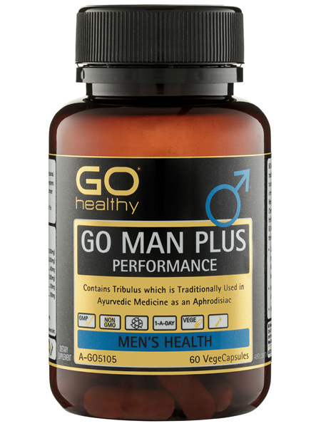GO Healthy GO Man Plus Performance VegeCapsules 60 Pack