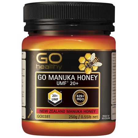 GO Healthy GO Manuka Honey UMF 20+ 250g