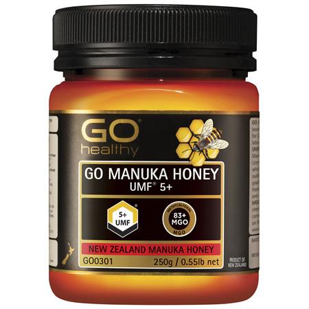 GO Healthy GO Manuka Honey UMF 5+ 250g