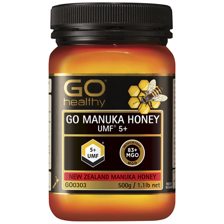 GO Healthy GO Manuka Honey UMF 5+ 500g