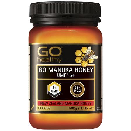 GO Healthy GO Manuka Honey UMF 5+ 500g