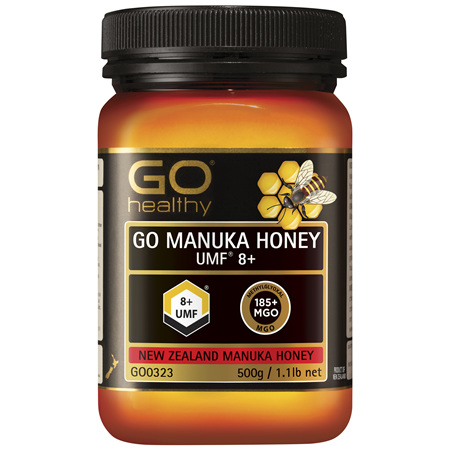 GO Healthy GO Manuka Honey UMF 8+ 500g