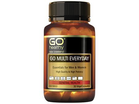 GO Healthy Go Multi Eeveryday 30 VegeCaps