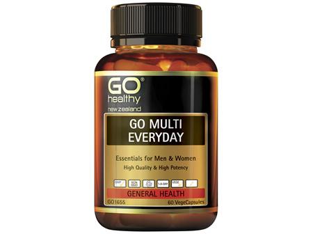 GO Healthy Go Multi Eeveryday 60 VegeCaps