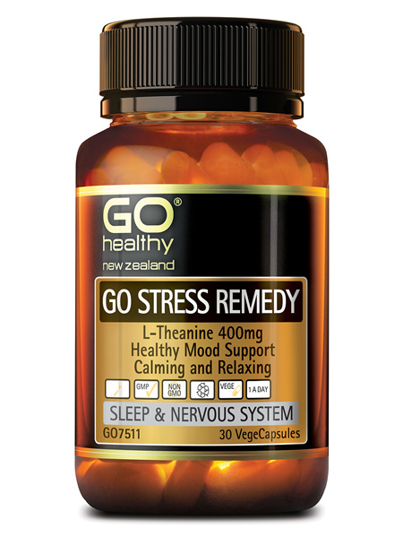 GO Healthy GO Stress Remedy 30 VegeCapsules