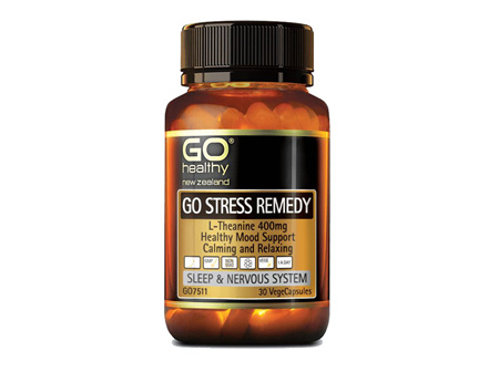 GO Healthy GO Stress Remedy VegeCapsules 30s