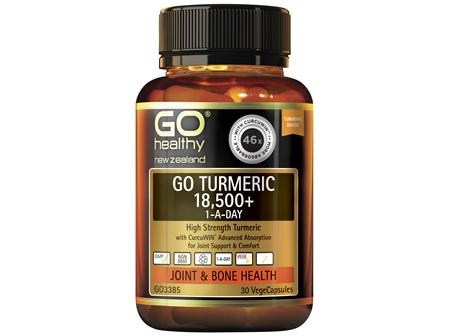 GO Healthy GO Turmeric 18500 1ADay 30 Capsules