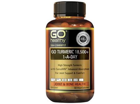 GO Healthy GO Turmeric 18500 1ADay 60 Capsules