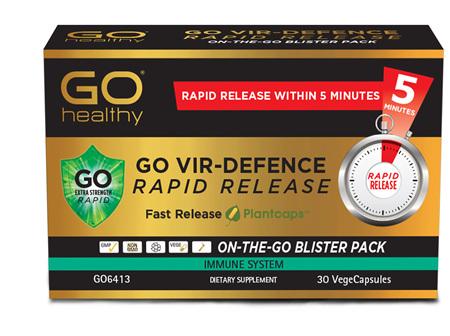 GO Healthy Go Vir-Defence Extra Strength Rapid 30 Capsules