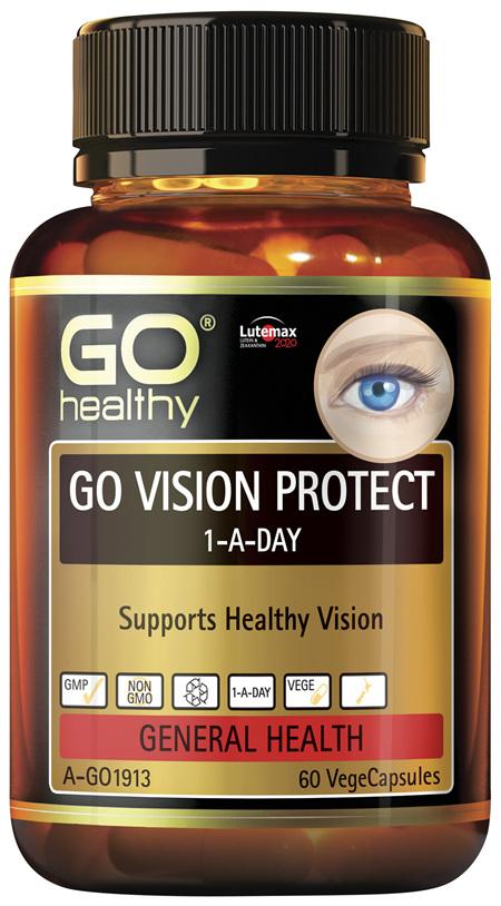 GO Healthy GO Vision Protect 1-A-Day 60 VegeCapsules