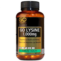 Go Healthy Lysine 1,000mg 60 caps