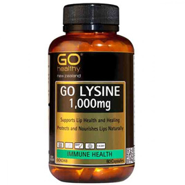 Go Healthy Lysine 1,000mg 60 caps