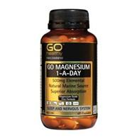 Go Healthy Magnesium 1-A-Day 60 caps