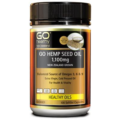 GO Hemp Seed Oil 1100mg 230caps