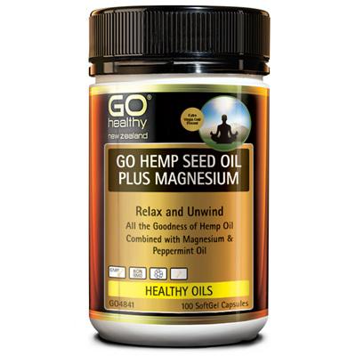 GO Hemp Seed Oil Plus Magnesium 100s