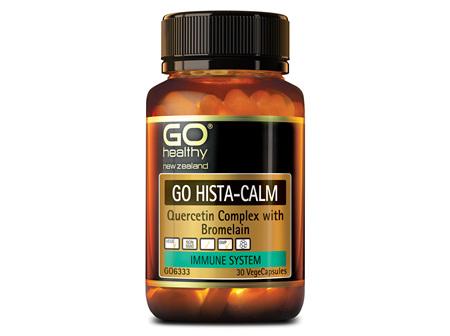 GO HISTA-CALM - Quercetin Complex (30 Vcaps)