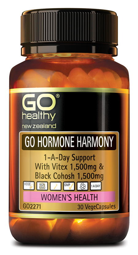 GO HORMONE HARMONY - 1-A-DAY SUPPORT (30 VCAPS)